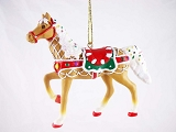 Sweet Treat Round-Up - Hanging Resin Ornament - Holiday 2015 Trail of Painted Ponies